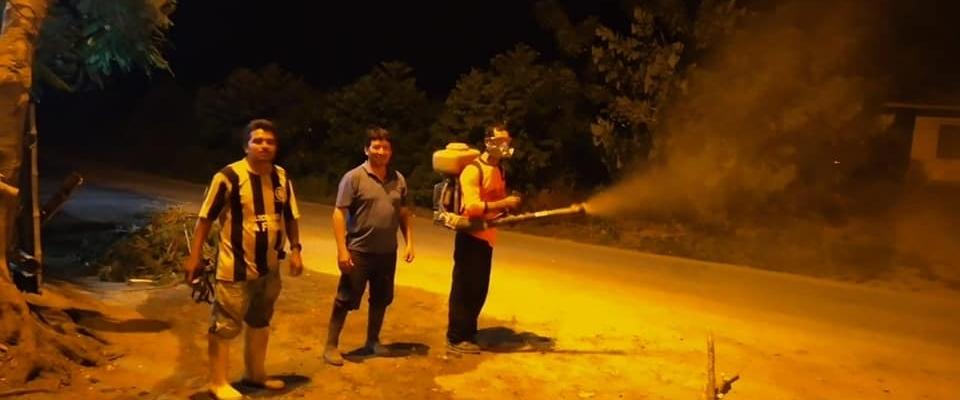 FUMIGACIONES EN LAS COMUNAS DE GUABILLO